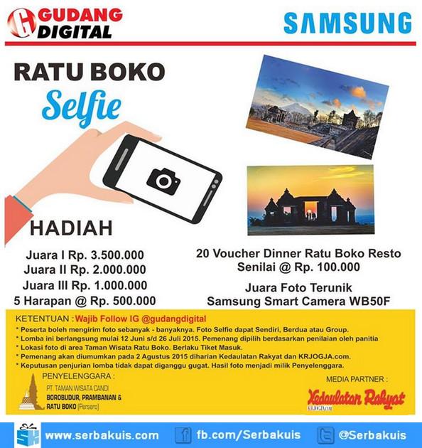 Ratu Boko Selfie Photo Contest - Cinta Budaya Bangsa