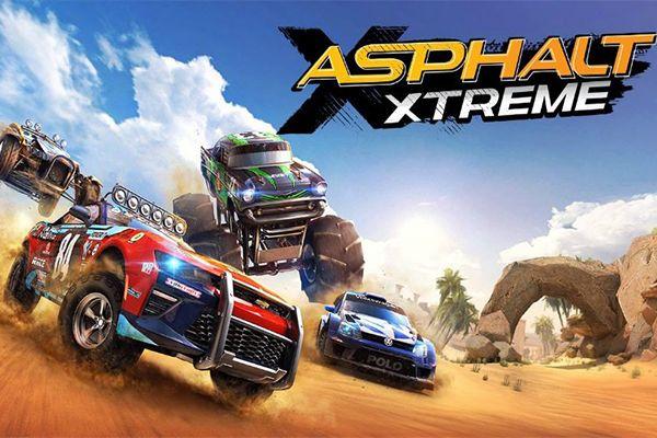 الإصدار الاخير من اللعبه الخرافية Asphalt Xtreme