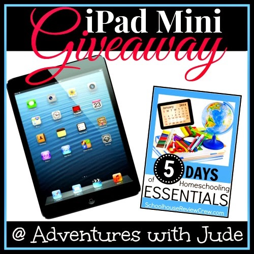 Homeschooling Essentials iPad Mini Giveaway