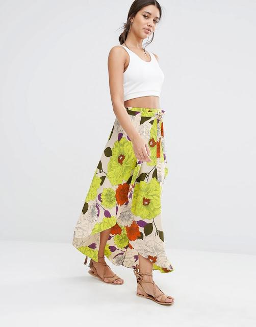 faldas largas para playa