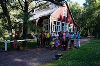 Maunulan Maja Helsinki voyage de Marche Nordique Juillet 2017