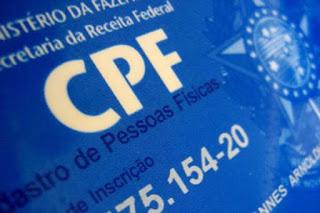 População pode atualizar CPF pela internet a partir desta segunda-feira (16)