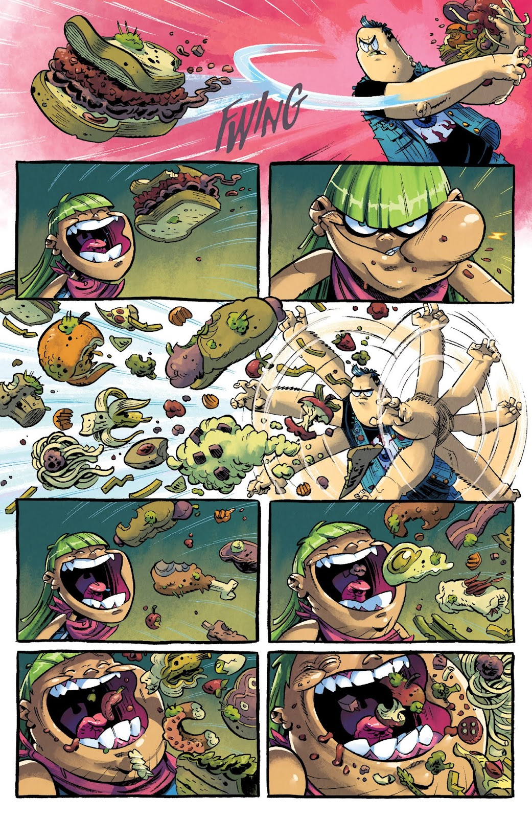 Read online Bully Wars comic -  Issue #4 - 9