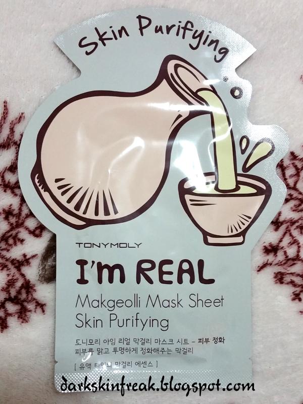 I'm Real Makgeolli Sheet Mask by TONYMOLY #21