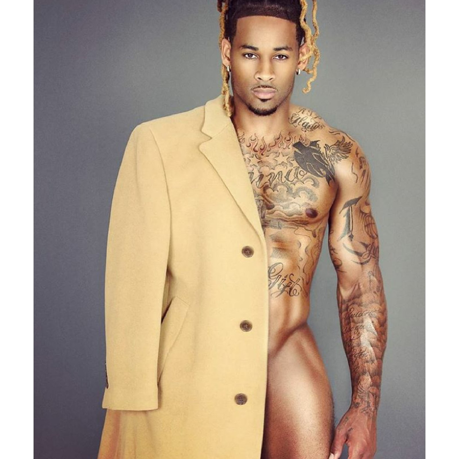 Jamaican Men Nude 47