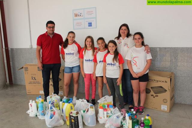 El Ayuntamiento de Santa Cruz de La Palma agradece la colaboración del Club Patín Samim con los Servicios Sociales municipales