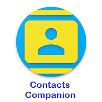 Contacts Companion - Secure Operations: Backup, Restore, Export, Delete Contacts Data