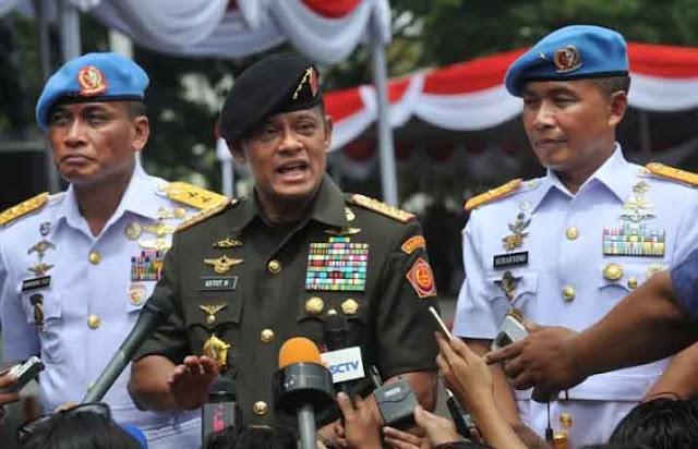Panglima TNI Akui Pemutaran Film G30S PKI untuk Memancing Keluar Antek dan Pendukung PKI (Komunis)