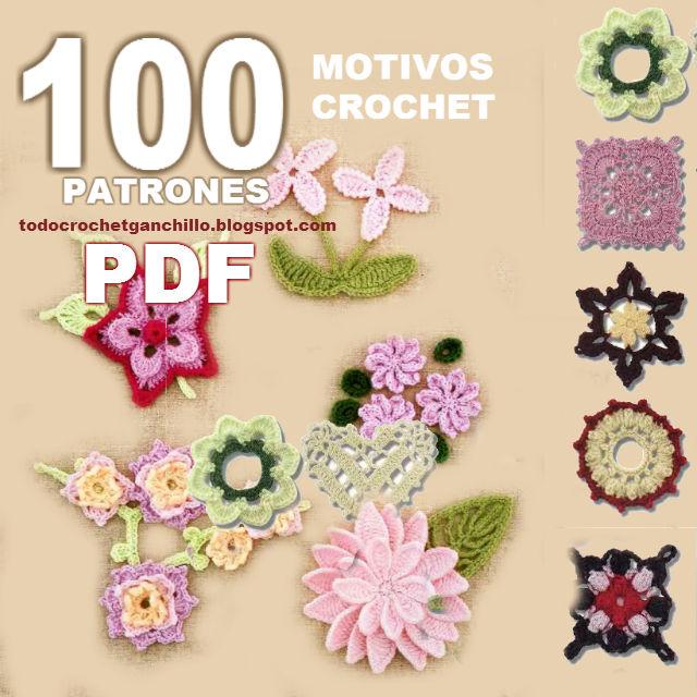 Libro de crochet con 100 patrones de motivos en pdf