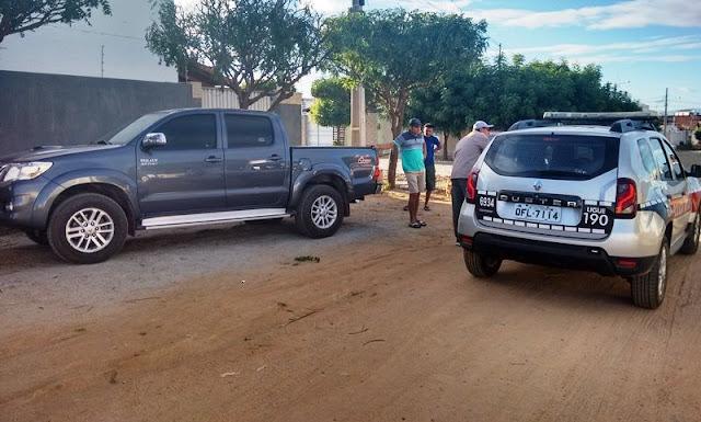 Violência: Bandidos abrem fogo e assaltam comerciante na manhã desta segunda-feira