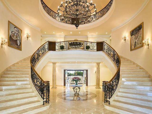Cầu thang cho biệt thự - mẫu số 3