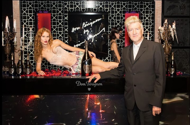 luxury corset collection by corsetorium Madrid launch with David Lynch