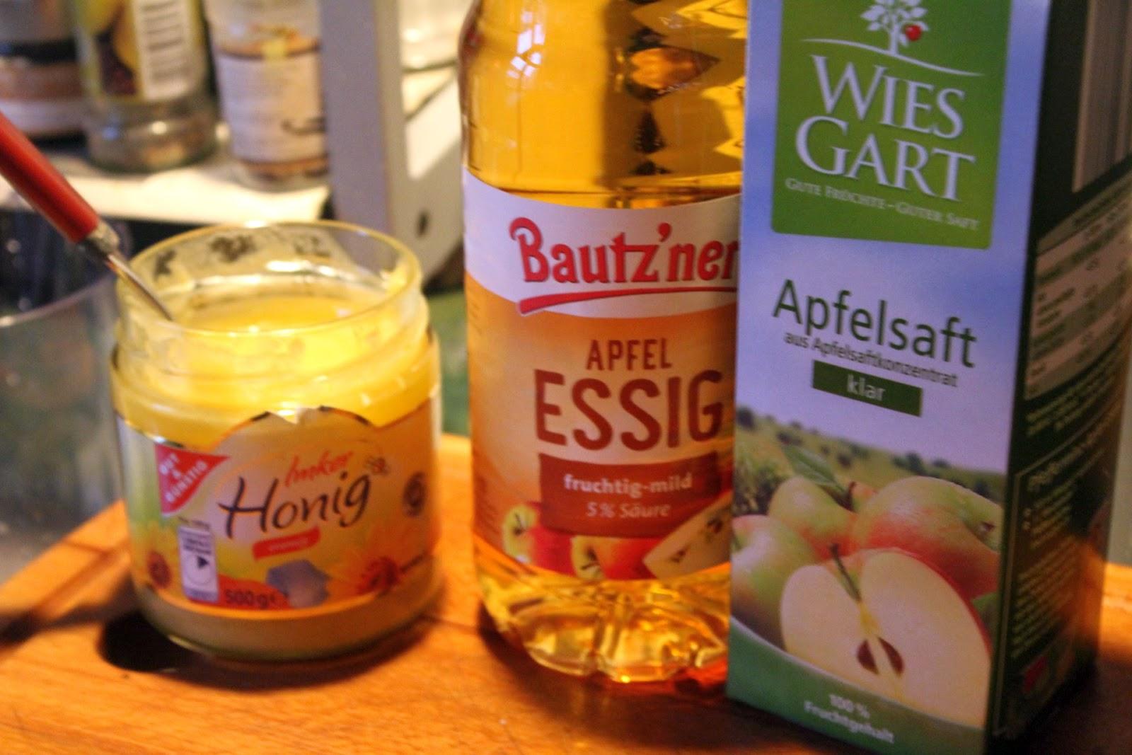 Etwas Neues genug Apfelreduktion aus Apfelsaft und Apfelessig – glatzkoch.de #OL_89