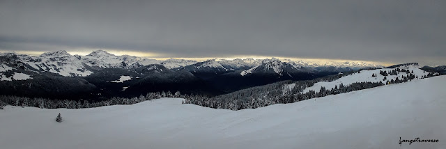 Snow, Bauges, Panorama, Neige, Snow, Alpes, Alps, paysages, Lanscape