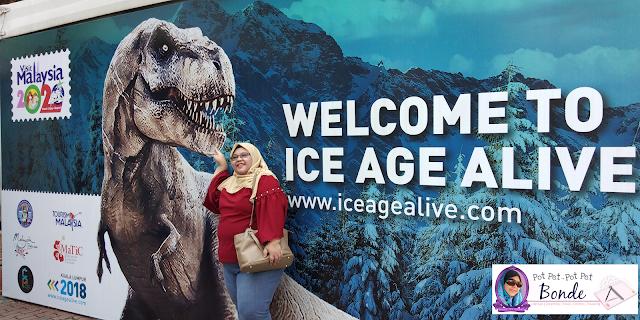 ICE AGE ALIVE DI KUALA LUMPUR, BINATANG ZAMAN PURBA, DINOSOR,FILEM ICE AGE ALIVE, BINATANG TERBESAR, ZAMAN PURBA,