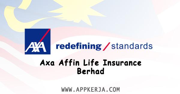 Jawatan Kosong Terkini di Axa Affin Life Insurance Berhad - 7 Jun 2018