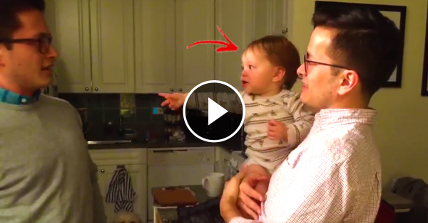 This Baby's Father Has A Twin, What She Did After Seeing Him Was Adorable!
