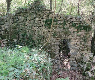 Abandoned home in San Lorenzo di Caprione, Lerici, Liguria.