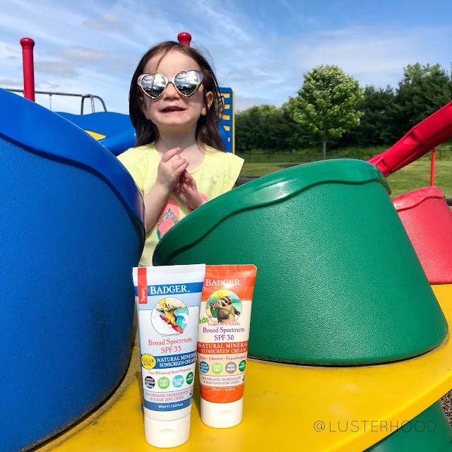 Badger Balm Kids Sunscreen  |  Lusterhood