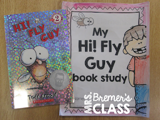 Our class LOVES Fly Guy! Here are some fun book companion activities we did with the book Hi! Fly Guy by Tedd Arnold.