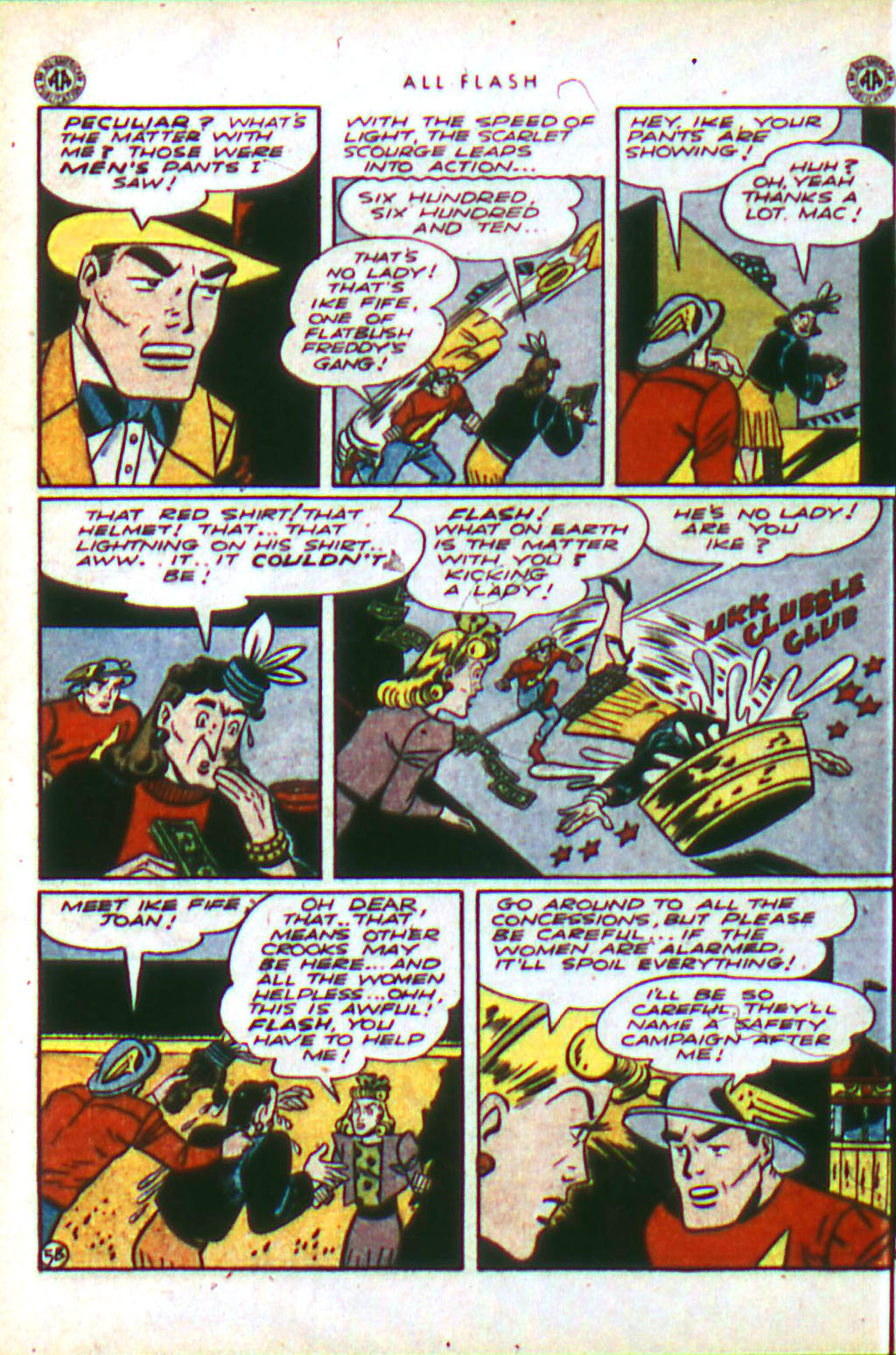 Read online All-Flash comic -  Issue #18 - 22