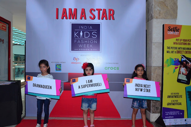 India Kids Fashion Week held auditions in Delhi with much fanfare