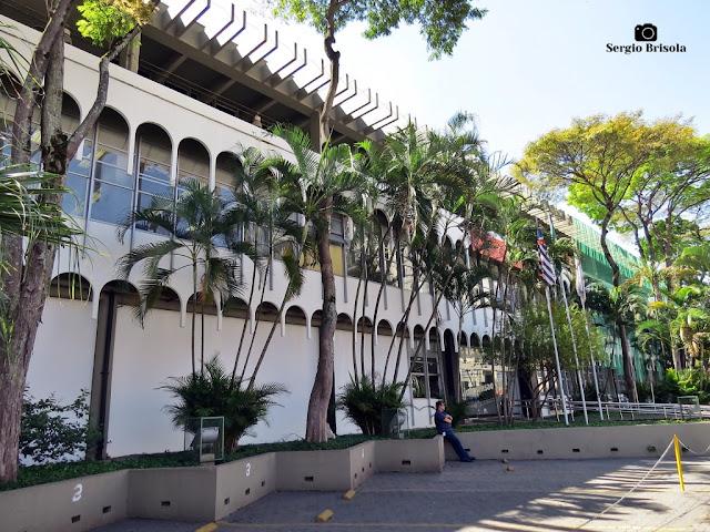 Vista da fachada da Imprensa Oficial do Estado de São Paulo - Mooca - São Paulo