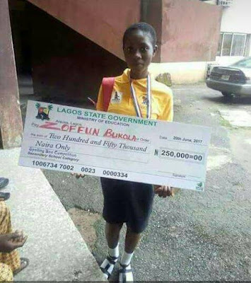 16-year-old Bukola Zoffun
