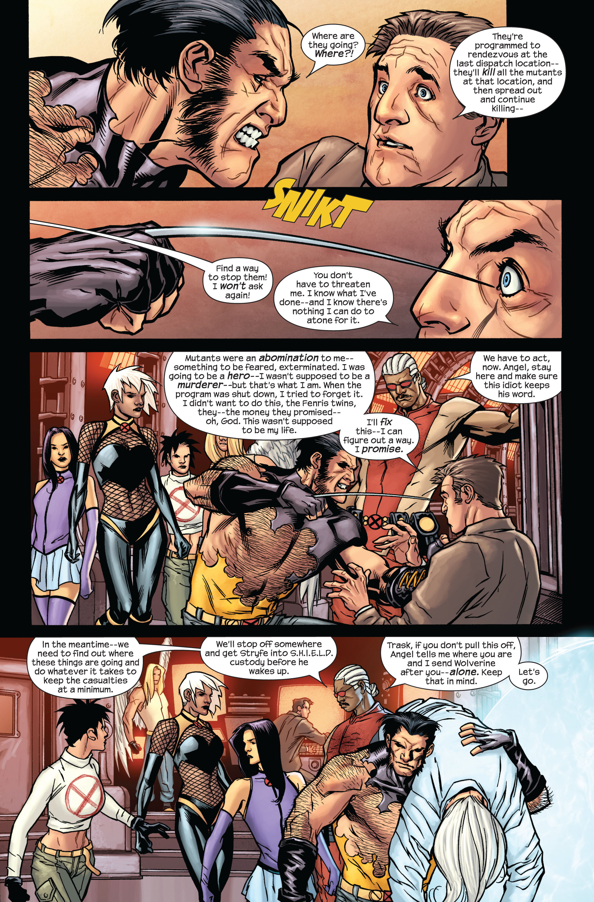 Read online Ultimate X-Men comic -  Issue #87 - 13
