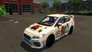 Subaru Impreza 2017 Pop Team Epic Skin