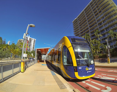 G:Link Light Rail Surfers Paradise 2014