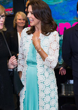 Royal Family Around the World: Danish Crown Princess Mary Visits ...