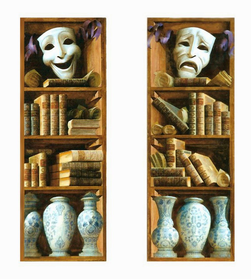 Paintings Bookshelves