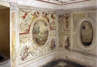 Photo of Vasari wall paintings