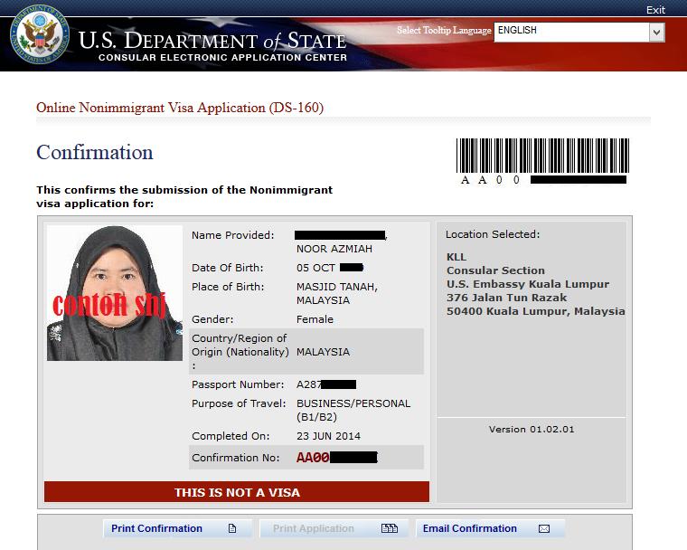 tarvel USA, Visa USA, cara mohon visa, Global incentive, trip shaklee, shaklee USA