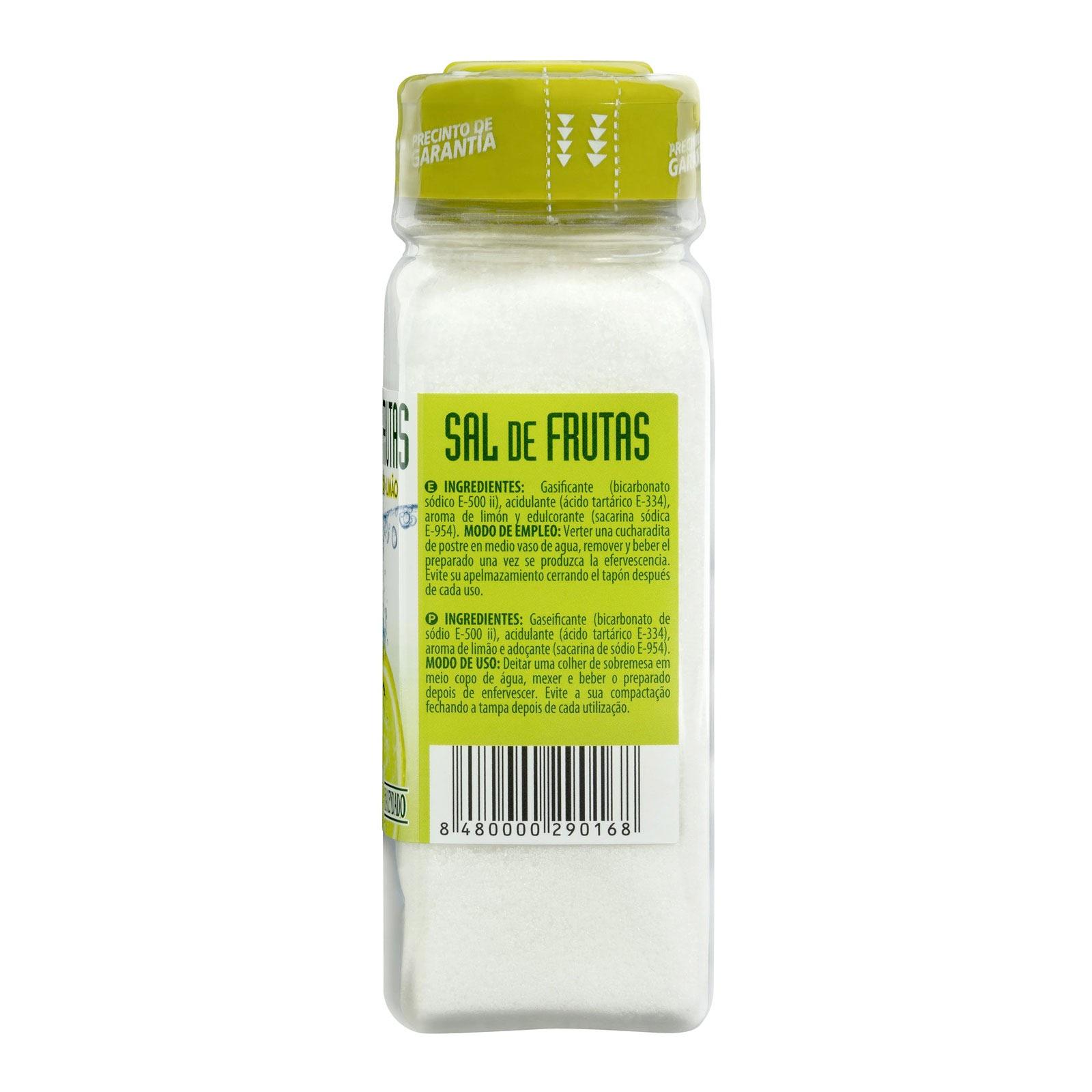 Sal de frutas sabor limón Hacendado