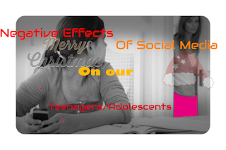 negative effect of social media on teenagers/adolescents