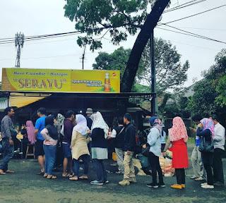 Antri Cuanki Serayu Bandung