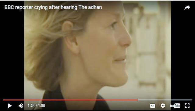 Reporter Asing Ini Takjub Dan Menangis Ketika Mendengar Adzan Di Timur Tengah