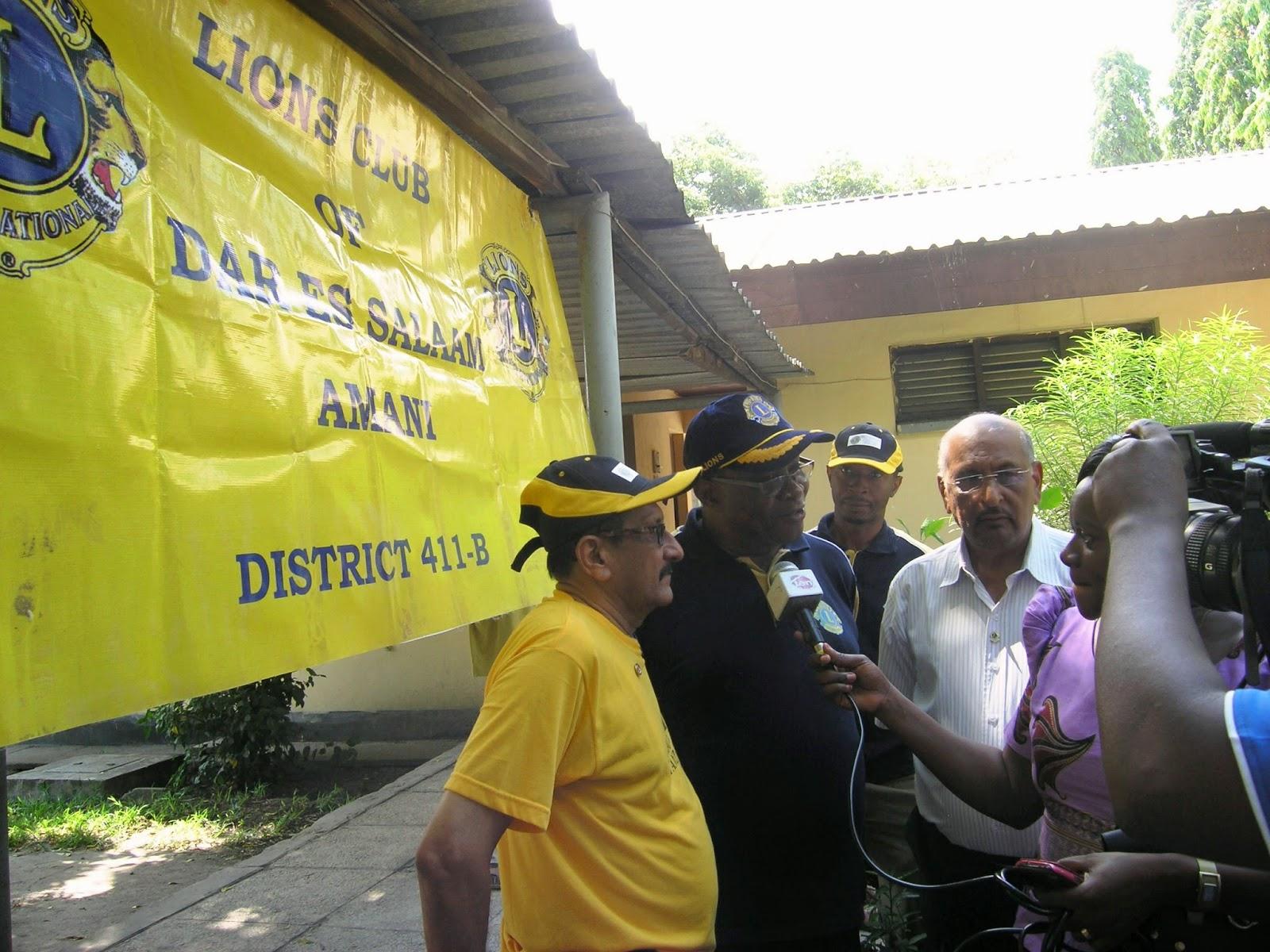District 411b District Governor Lion Night Ndyarugahi