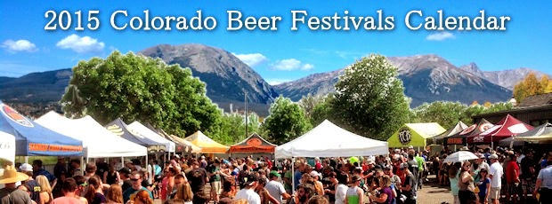 2015 Colorado Beer Festival & Events Calendar