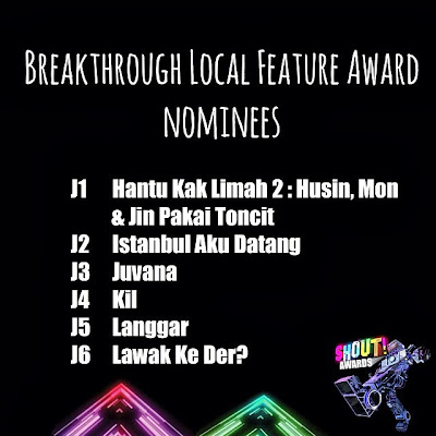 The Shout! Awards 2013 - Breakthrough Local Feature Award Nominees