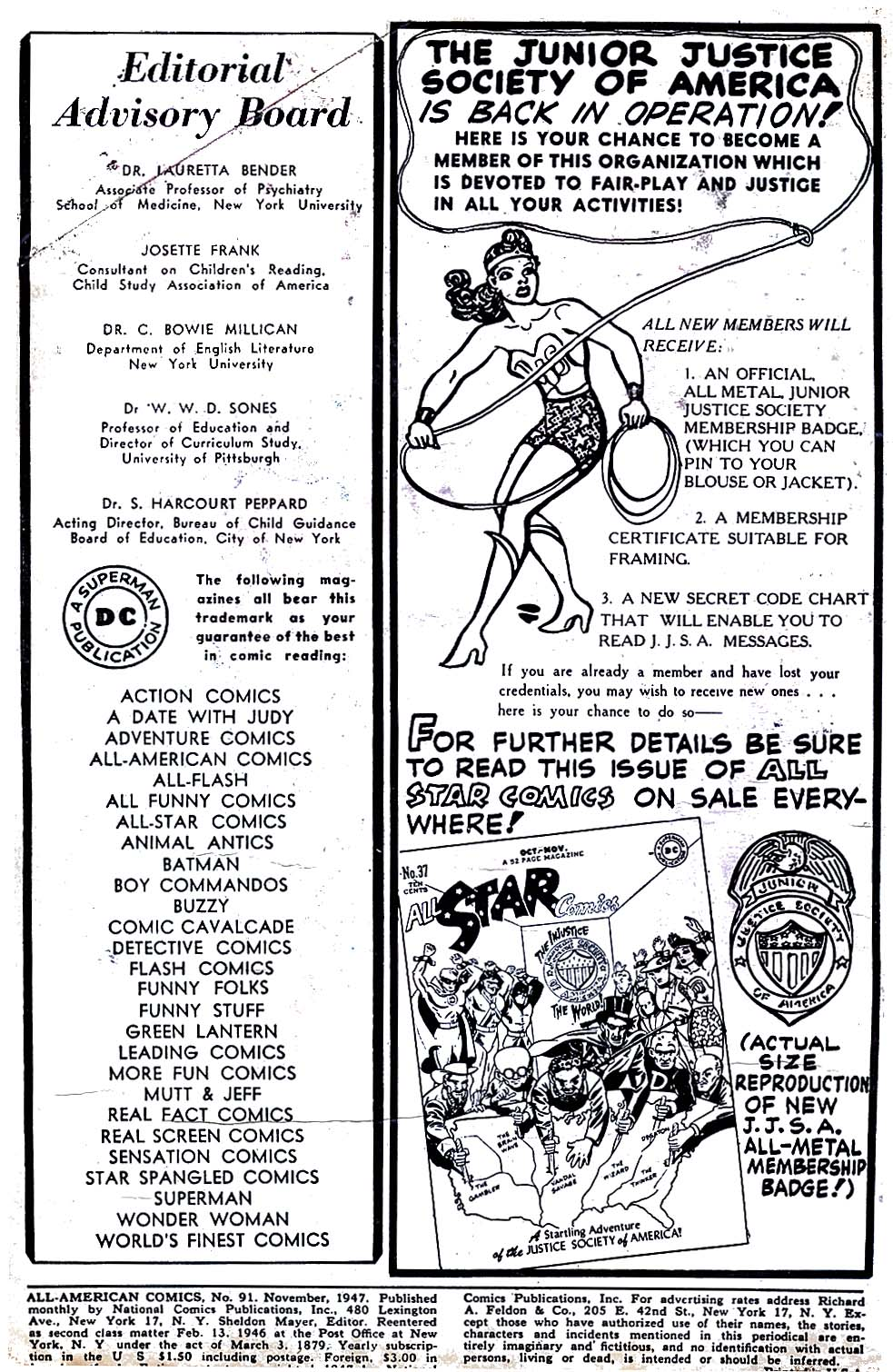 All-American Comics (1939) issue 91 - Page 2