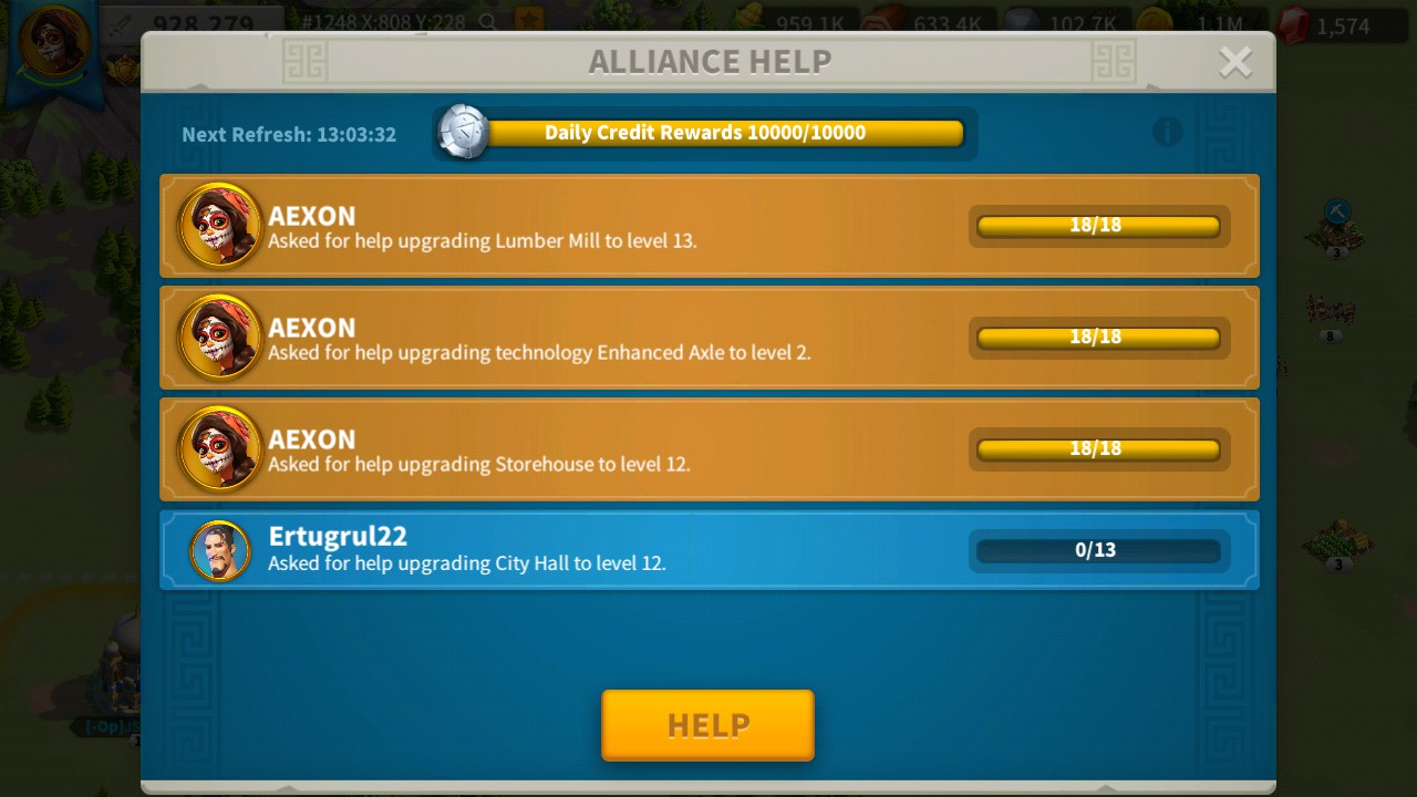 Best 5 Ways To Get Alliance Credits Faster and Easy - Rise Of Kingdom