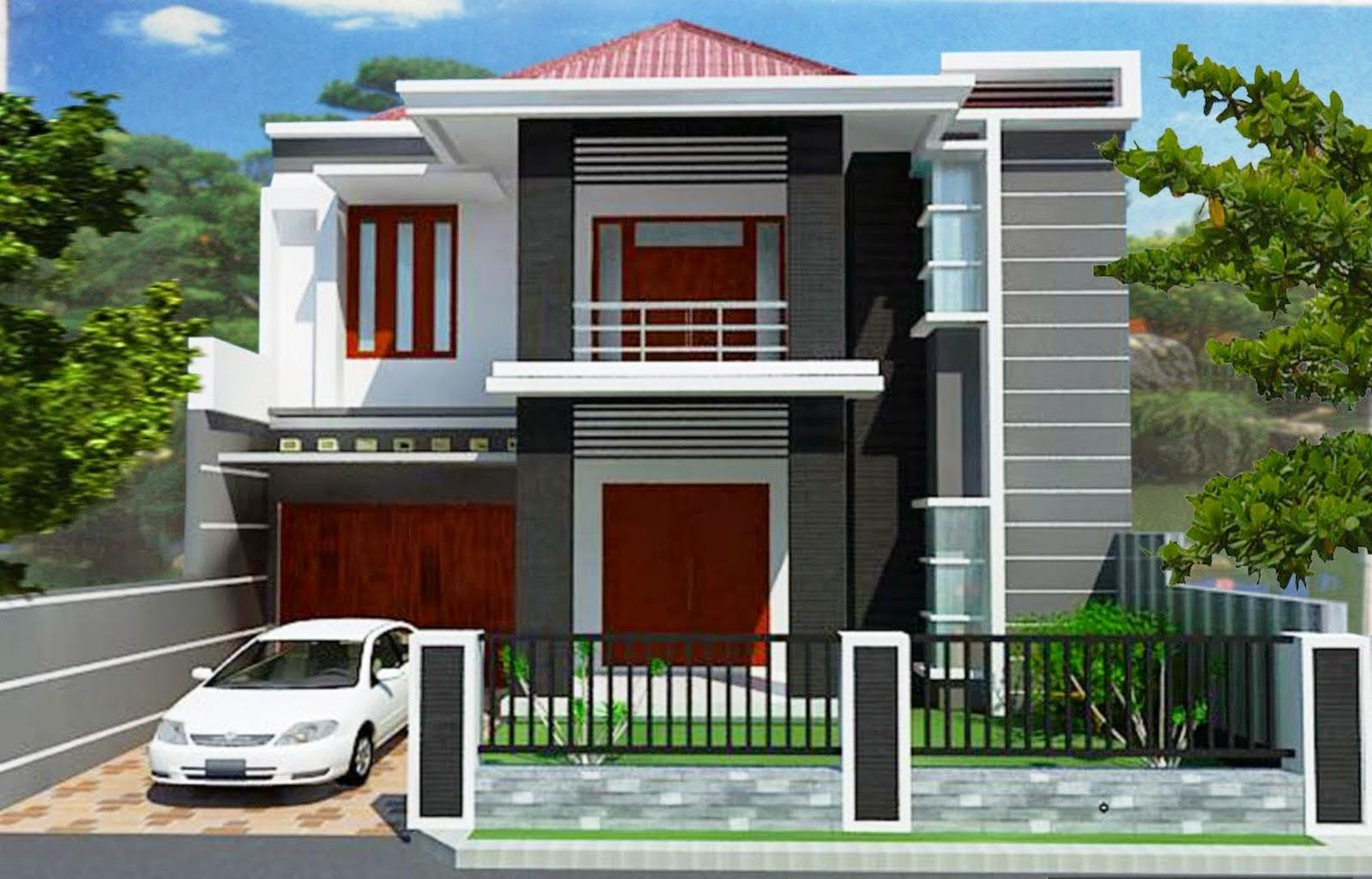 Model Gambar Denah Rumah Ukuran 9 X 12 2 Lantai | Denahose
