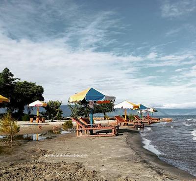 Pantai Batu Hoda, Pantai Yang Romantis di Tobasa