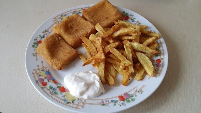 rántott sajt recept
