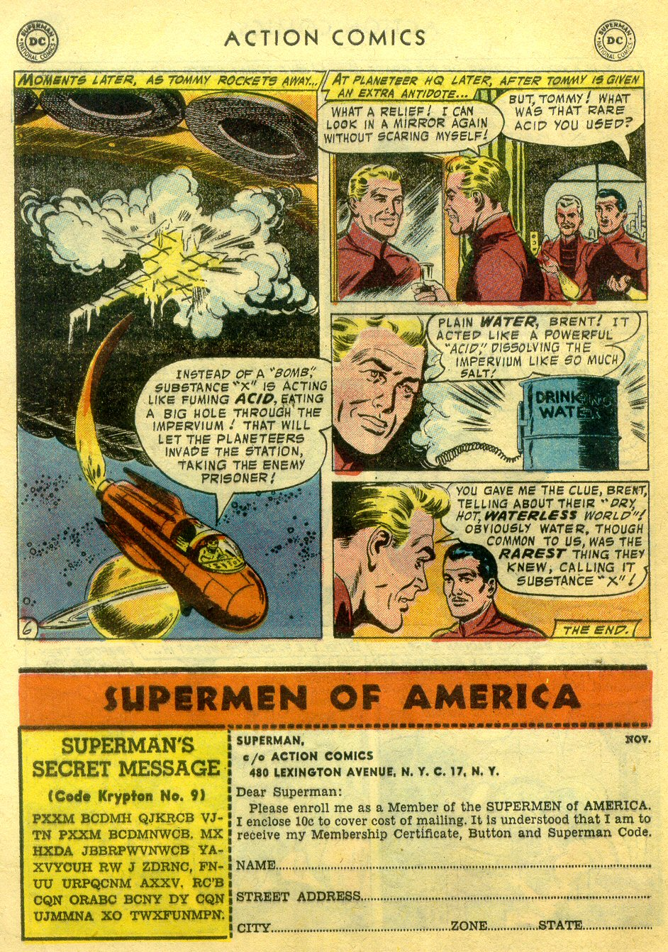 Read online Action Comics (1938) comic -  Issue #222 - 31