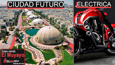 Ciudad del Futuro, Sustainable city, Teh chamaleon mask, noticias, el muyayo