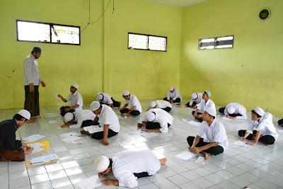 Madrasah Aliyah, Tsanawiyah dan Ibtidaiyah DALWA Menuju Ujian Nasional